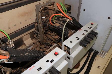 HOMAG / WEMHÖNER / MAW NOTTMEYER POWER KF 20 / SPN-1 Doppelseitige Kantenanleimmaschine i_03093464