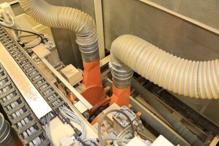 HOMAG / WEMHÖNER / MAW NOTTMEYER POWER KF 20 / SPN-1 Doppelseitige Kantenanleimmaschine i_03093477