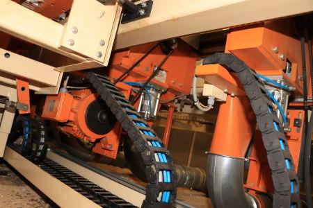 HOMAG / WEMHÖNER / MAW NOTTMEYER POWER KF 20 / SPN-1 Doppelseitige Kantenanleimmaschine i_03093480