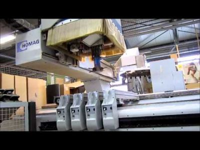 Frezarka pionowa CNC HOMAG Optimat BOF 211/52/K v_00193449