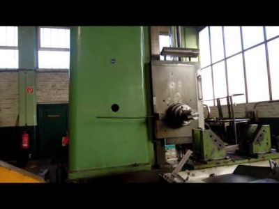 WOTAN B 160 P Floor Type Boring Mill with rotary table v_00367865