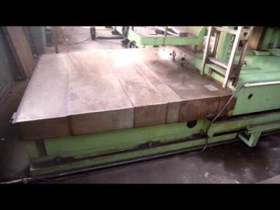 WOTAN B 160 P Mandrinadora horizontal de columna movil with rotary table v_00367866