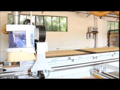 WEEKE Optimat BHP 200/5 Nesting Centro de mecanizado CNC with MATRIX-Table v_00631233