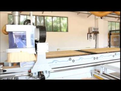 WEEKE Optimat BHP 200/5 Nesting Centro di lavoro CNC with MATRIX-Table v_00631233
