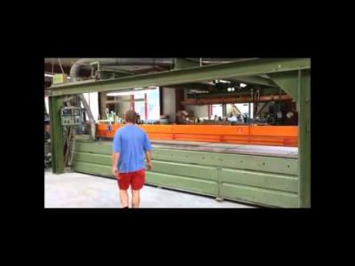 SCHEER FM 14-5700 Panel Testere with Vacuum portal crane loading v_00808874