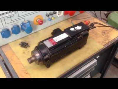 EMOD VKF 63 / 2-140 - 3 Fraesmotor einer Weeke Frässpindel v_02546267