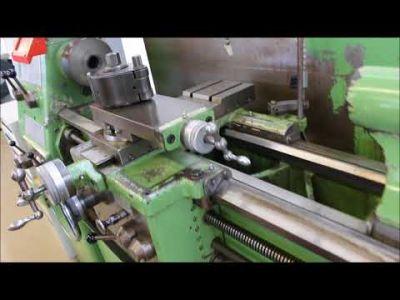 WEILER CONDOR Leit- und Zugspindeldrehmaschine v_03022582