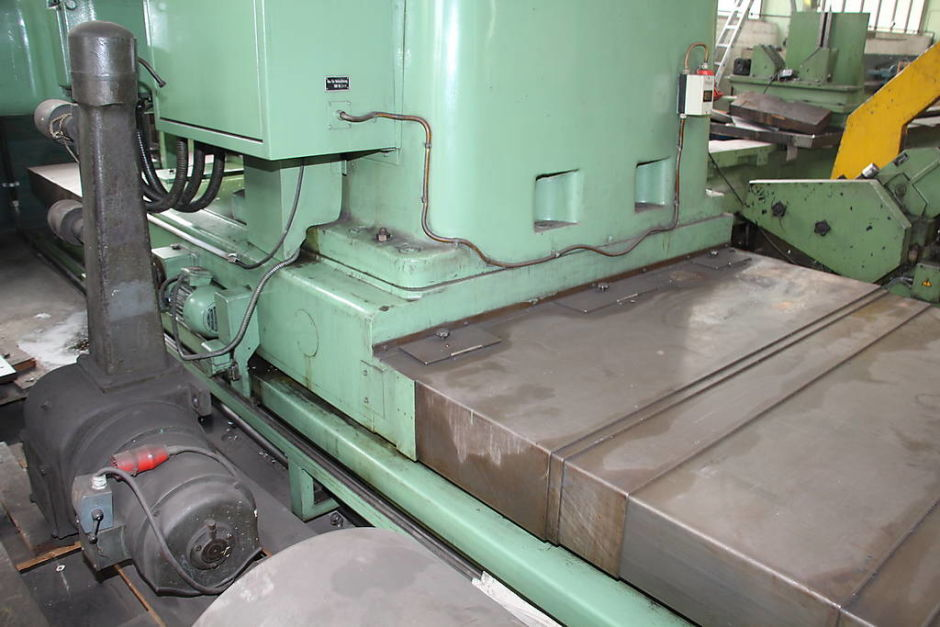 WOTAN B 160 P Floor Type Boring Mill with rotary table ...